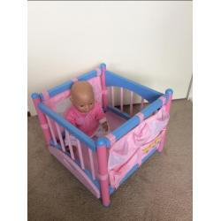 Babyborn box/commode