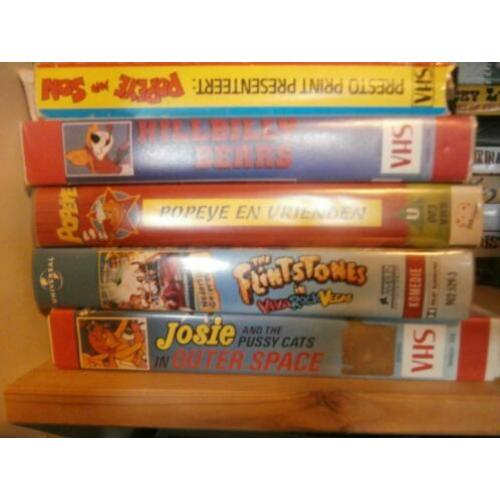 Video vhs tekenfilm bean jumanji bugs bunny disney flintston